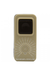 Кнопка дзвінка овальна біла LMA331