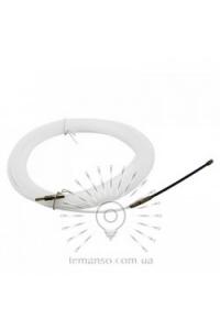 LMK200 Протяжка кабеля d=3мм,5м нейлон біла