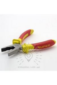 Плоскогубці 160 мм червоно-жовті  LEMANSO LTL20001