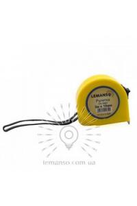 Рулетка  3м х 16мм жовта LEMANSO LTL70001