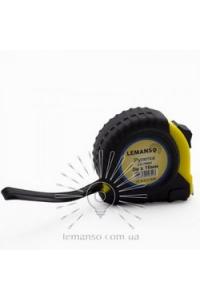 Рулетка  3м х 16мм жовто-чорна  LEMANSO LTL70003