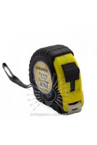 Рулетка  5м х 19мм жовто-чорна  LEMANSO LTL70004