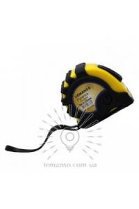 Рулетка  5м х 25мм жовто-чорна  LEMANSO LTL70010