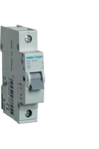 Автоматичний вимикач In=06A, 1п, С, 6kA, 1м  Hager