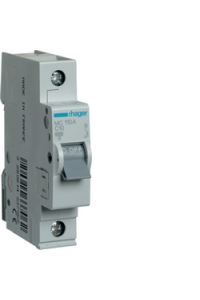 Автоматичний вимикач In=10A, 1п, С, 6kA, 1м  Hager
