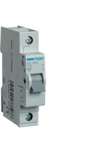 Автоматичний вимикач In=16A, 1п, С, 6kA, 1м  Hager