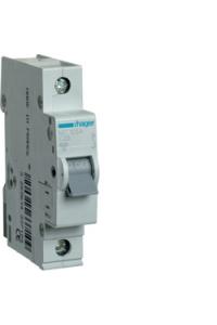 Автоматичний вимикач In=25A, 1п, С, 6kA, 1м  Hager
