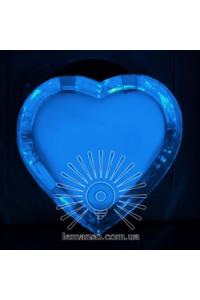 Нічник сердце голубий NL 4 (131)