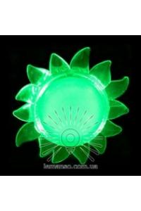 Нічник сонце зелений NL 8