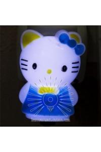 Нічник кішечка голубий NL 9(111)