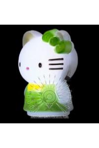Нічник кішечка зелений NL 9(113)