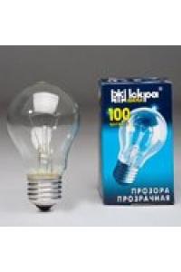 Лампа ЛПЗ Іскра А55 230В 100Вт Е27 прозора