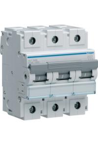 Автоматичний вимикач In=125A, 3п, С, 10kA, 4,5м  Hager
