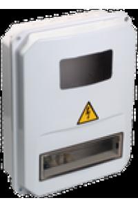 Корпус пласт. ЩУРн-П 3/10 для 3-ф лічильника навісний 345х270х105 IP55
