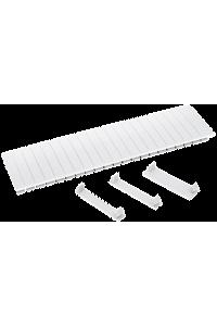 Заглушка  12 модулів біла