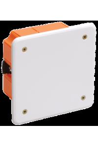 Коробка КМ41022 розпаювальна 92х92x45мм для порожнистих стін