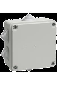 Коробка КМ41233 розпаювальна для в/п 100х100х50мм IP44