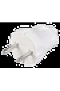 ВПп20-01-Ст Вилка розбірна пряма без з/к 6А біла