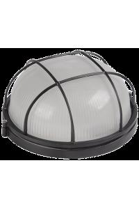 світильник НПП1302 чорний/коло з реш.60Вт IP54  ІЕК