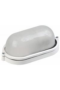 світильник НПП1401 білий/овал 60Вт IP54  ІЕК