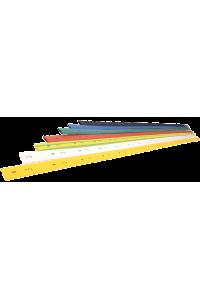 Термоусаджувальна трубка ТТУ 20/10 жовта 1 м IEK