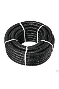 Гофротруба стандарт D 25 мм (50) 220 чорна