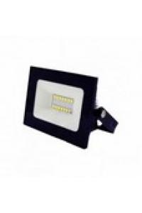 """Прожектор  10W 560LМ 6500К IP65 чорний """"Нептун"""" пластик.корпус LMP75-10"""