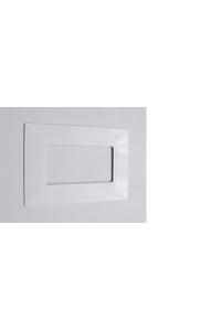 Накладка 735212.421 електроустановчі блоки біла (30шт)