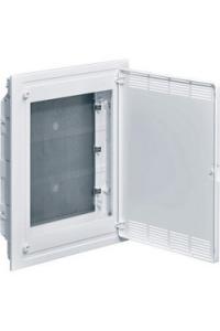 Щит 3-рядний для ММ-обладнання, в/у, білі пластикові перфоровані двері COLF Hager VF318PZF