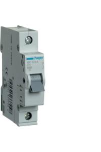 Автоматичний вимикач In=04A, 1п, С, 6kA, 1м  Hager