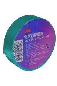 Ізолента 3М зелена Taiwan (0,13х19х20м)