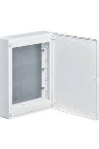 Щит 3-рядний для ММ-обладнання, з/у, білі пластикові перфоровані двері, GOLF VS318PZF